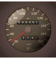 Speedometers vector image