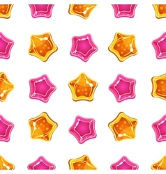 Star candy pattern vector