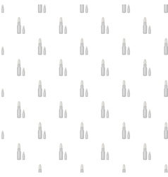 Bullets pattern cartoon style vector