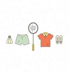 Sportswear vector image