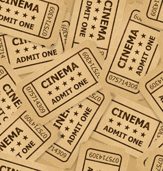 ticket cinema icon 02 03 vector image
