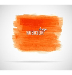 Watercolor design banner vector image