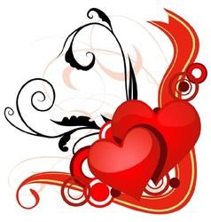 Valentines banner vector