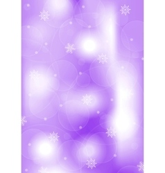 Bright purple Christmas background vector image