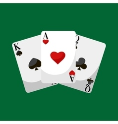Playing poker cards  win vector