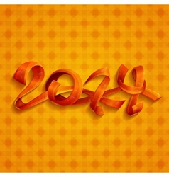 New Year Ribbons vector image