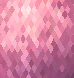 Pink background with rhombus vector