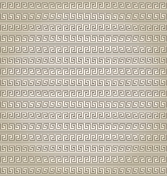 Seamless abstract pattern in greek style vector image