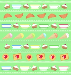 Culinary decor background for decoration vector