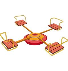 carousel vector image
