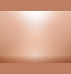 Rose gold background with lighting metallic pink vector