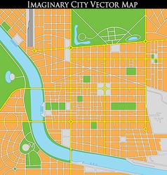 Generic Citymap vector image