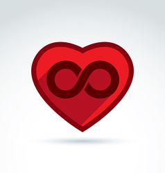Infinity icon eternal life idea of an ete vector