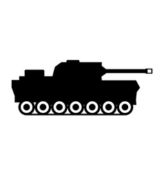 Panzer icon vector
