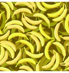 Seamless banana pattern vector