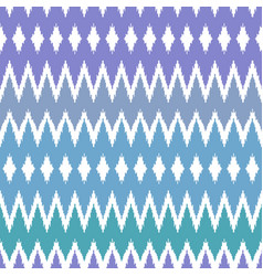 ethnic winter seamless pattern vector image