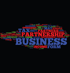 Forms of ownership text background word cloud vector