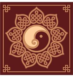 Oriental Design Element vector image vector image
