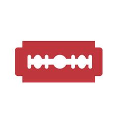 Razor blade symbol vector