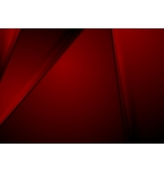 Dark red smooth material corporate background vector image vector image