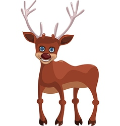 Happy deer vector image vector image