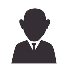 man suit tie executive vector image