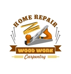 Home repair tool symbol with instrument vector