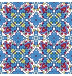 mosaic background ceramic tiles majolica vector image