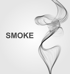 Abstract smoke background vector