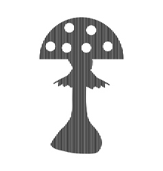 Amanita sign on white vector