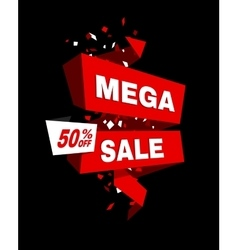 Super sale poster banner big sale clearance vector