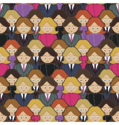 business women pattern vector image vector image