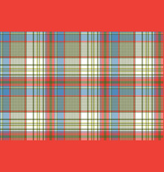 coloured plaid shirting diagonal seamless fabric vector image vector image