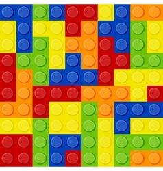 Lego tetris vector