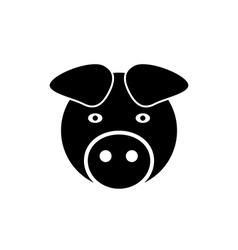 Pig icon vector image