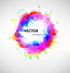 Abstract floral backdrop vector