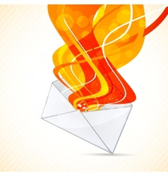 Envelope design vector