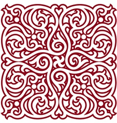 Detailed Oriental Design Element vector image vector image