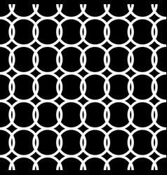 simple repeating texture with circles vector image