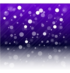 Whte snow bokeh blue background vector
