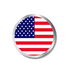 United states of america badge vector