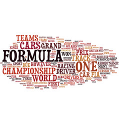 Formula a history to text background word cloud vector