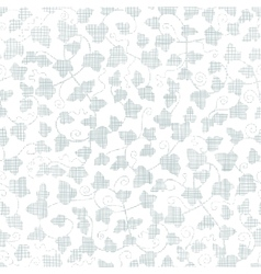 Sylver ivy textile texture seamless pattern vector