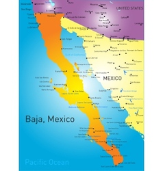 Baja california vector
