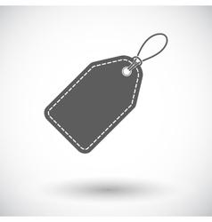Label icon vector image