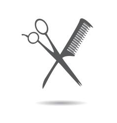 Barbershop symbol flat vector