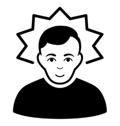 Inventor flat icon vector