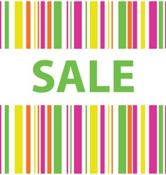 sale color background vector image