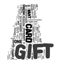 Yes a gift card is a great present text word vector