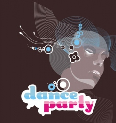 Dance party vector